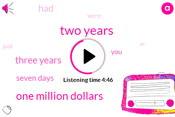 Two Years,One Million Dollars,Three Years,Seven Days