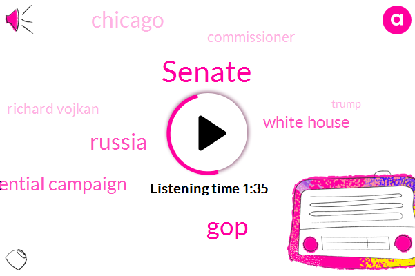 Senate,GOP,Russia,Presidential Campaign,White House,Chicago,Commissioner,Richard Vojkan,Donald Trump,Rubio,FBI,Ford Cook,President Trump