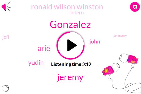 Gonzalez,Jeremy,Arie,Yudin,John,Ronald Wilson Winston,Intern,Jeff,Germany,Woodstock High School,Vernon Hills Chamber