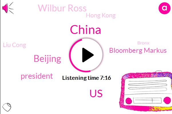 China,United States,Bloomberg,Beijing,President Trump,Bloomberg Markus,Wilbur Ross,Hong Kong,Liu Cong,Bronx,Asia,UK,Belgium,North Korea,President Bongo,Kim Jong Un
