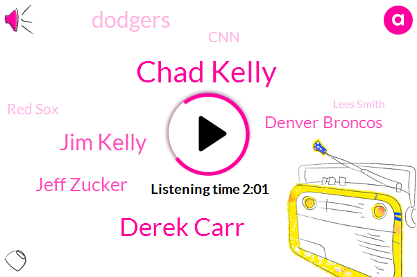 Chad Kelly,Derek Carr,Jim Kelly,Jeff Zucker,Denver Broncos,Dodgers,CNN,Red Sox,Lees Smith,Denver,White House,Hyun Jin Ryu,Building Capital,Fenway,Bush,Boston,NFL,Cora,Kevin