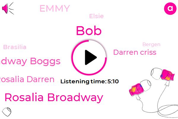 BOB,Rosalia Broadway,Daniel Broadway Boggs,Rosalia Darren,Darren Criss,Emmy,Elsie,Brasilia,Bergen,Gore,Robbery,JOE,One Day