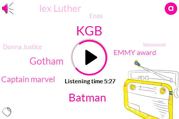 KGB,Batman,Gotham,Captain Marvel,Emmy Award,Lex Luther,Enos,Donna Justice,Westworld,Melillo,Italy,United States,Murder,Cybernet,Ms Suming,Russia,Martha Kent,Rick,Lois Lane,Superman