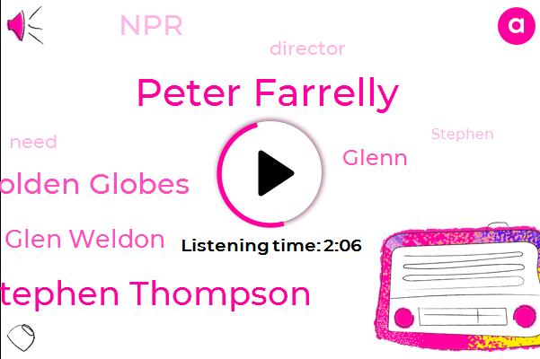 Peter Farrelly,Stephen Thompson,Golden Globes,Glen Weldon,Glenn,NPR,Director