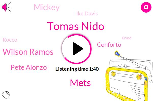 Tomas Nido,Mets,Wilson Ramos,Pete Alonzo,Conforto,Mickey,Ike Davis,Rocco,Bond,Steve Gal,Hankas