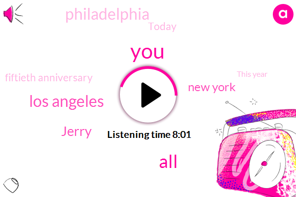 Los Angeles,Jerry,New York,Philadelphia,Today,Fiftieth Anniversary,This Year,Friday,First Day,Seventies Eighties,Twice,Congress,Sean,Three Million Businesses,Jerry's Dot Com,Marcus,Jerry's,Five Employers,Over One Hundred