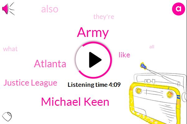 Army,Michael Keen,Atlanta,Justice League