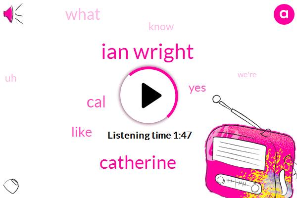 Ian Wright,Catherine,CAL