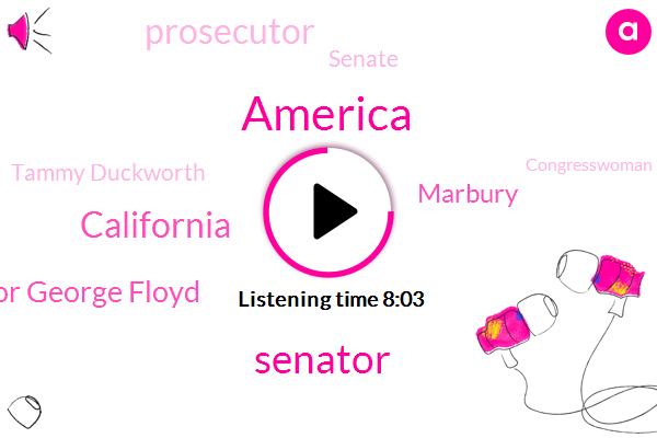America,Senator,California,Taylor George Floyd,Marbury,Prosecutor,Senate,Tammy Duckworth,Congresswoman Mang,Franken,Hawaii,Attorney,Official,Illinois