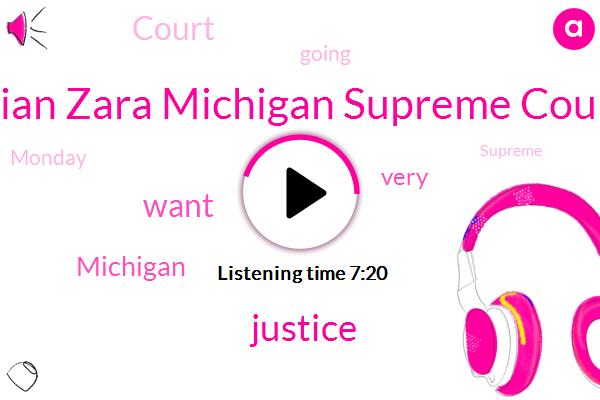 Brian Zara Michigan Supreme Court