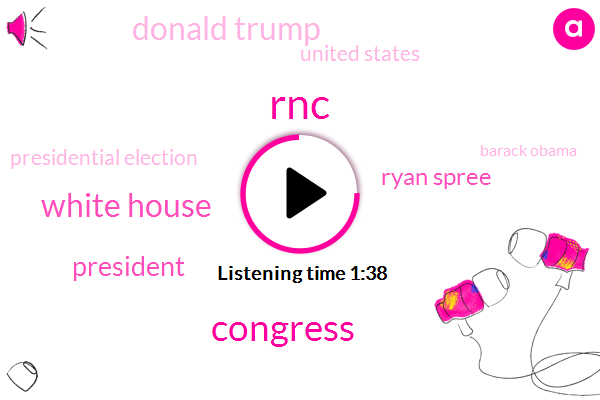 RNC,Congress,White House,President Trump,Ryan Spree,Donald Trump,United States,Presidential Election,Barack Obama,Chief Of Staff,Eight Years,Four Years