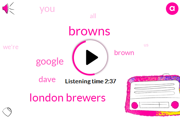 Browns,London Brewers,Google,Dave,Brown