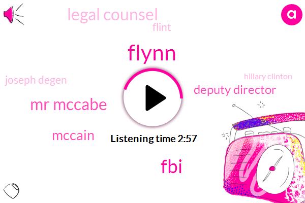 Flynn,FBI,Mr Mccabe,Mccain,Deputy Director,Legal Counsel,Flint,Joseph Degen,Hillary Clinton,Eeoc,Russia,Hillsdale College,Primus Magazine,Two Weeks