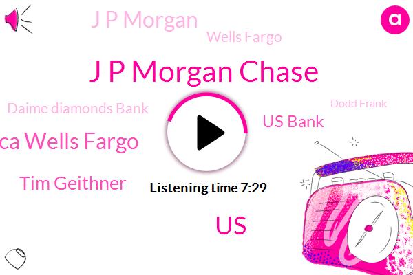 J P Morgan Chase,United States,Chase Bank America Wells Fargo,Tim Geithner,Us Bank,J P Morgan,Wells Fargo,Daime Diamonds Bank,Dodd Frank,Chicago,PNC,Jamie Dimon,Sandy Weill,Golf,Smith Barney