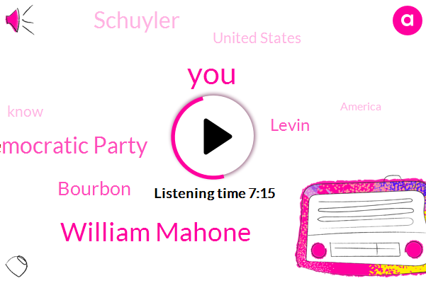 Virginia,William Mahone,Democratic Party,Bourbon,Levin,Schuyler,United States,America,Jacksonian