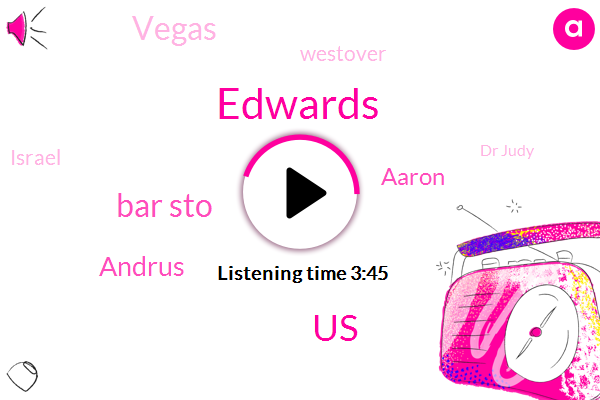 Edwards,United States,Bar Sto,Andrus,Aaron,Vegas,Westover,Israel,Dr Judy,Washington,Dulles,Twenty Year