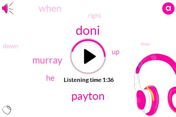 Doni,Payton,Murray
