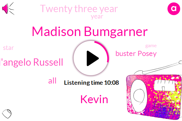 Madison Bumgarner,Kevin,D'angelo Russell,Buster Posey,Twenty Three Year