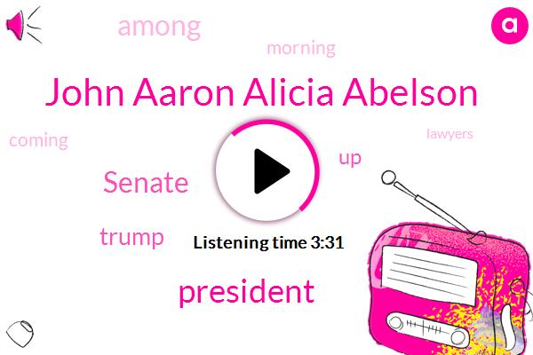 John Aaron Alicia Abelson
