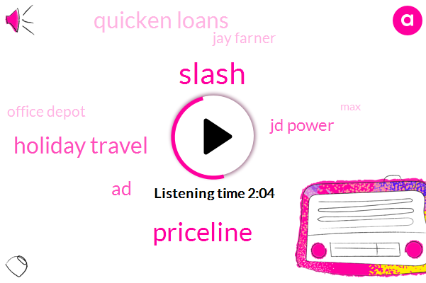 Radio,Slash,Priceline,Holiday Travel,AD,Sports,Jd Power,Quicken Loans,Jay Farner,Office Depot,MAX,Little,Officemax,America