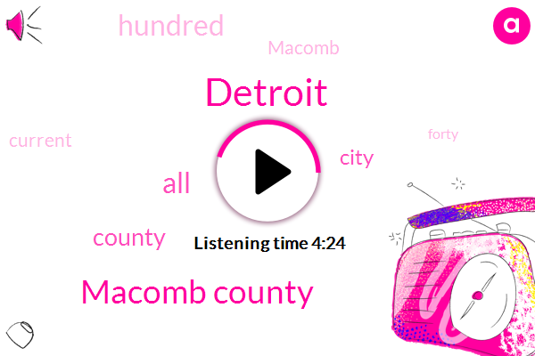 Macomb County,Detroit