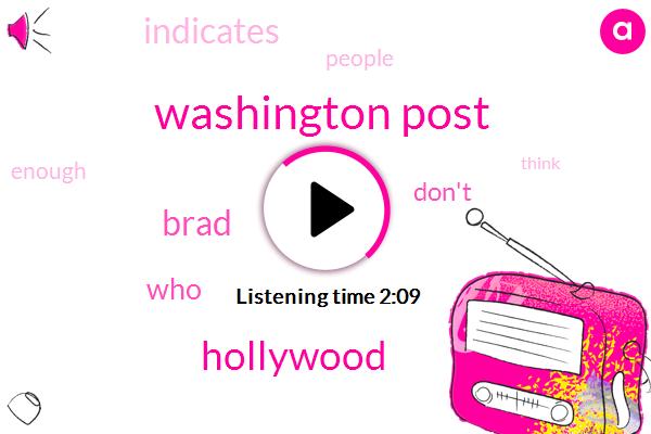 Washington Post,Hollywood,Brad