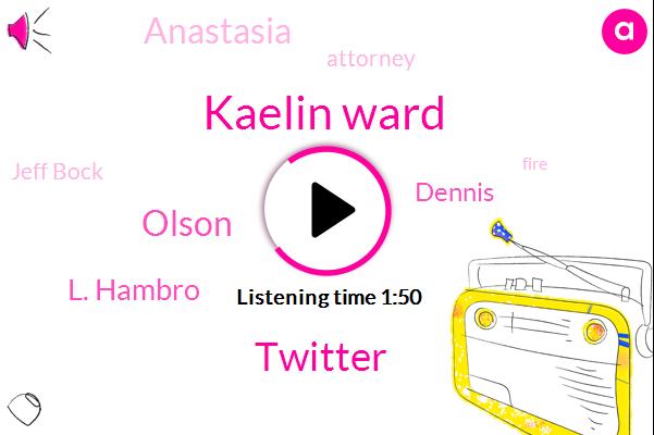 Kaelin Ward,Twitter,Olson,L. Hambro,Dennis,Anastasia,Attorney,Jeff Bock