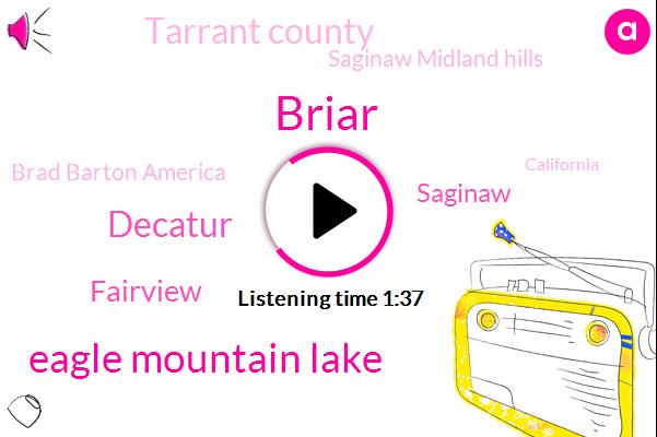 Briar,Eagle Mountain Lake,Decatur,Fairview,Saginaw,Tarrant County,Saginaw Midland Hills,Brad Barton America,California,Sansom Park Texas,W. B. A. P. Weather Center,David