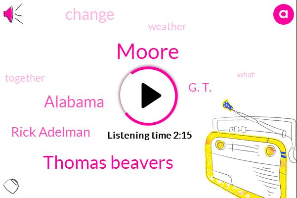 Moore,Thomas Beavers,Alabama,Rick Adelman,G. T.