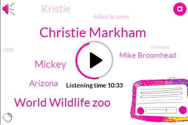 Christie Markham,World Wildlife Zoo,Mickey,Arizona,Mike Broomhead,Kristie,Mike Broom,Crockett,Vice President,Washington,Z A.,Mark Lottery,Ronald Reagan,Christy,Usda,Moore,Muller,President Trump,Christi,Advisor