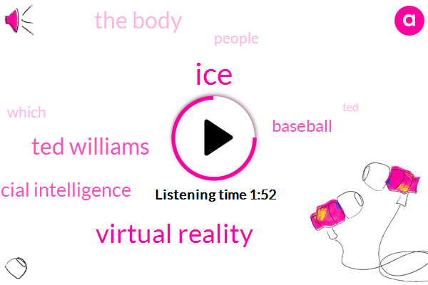 ICE,Virtual Reality,Ted Williams,Artificial Intelligence,Baseball,The Body,People