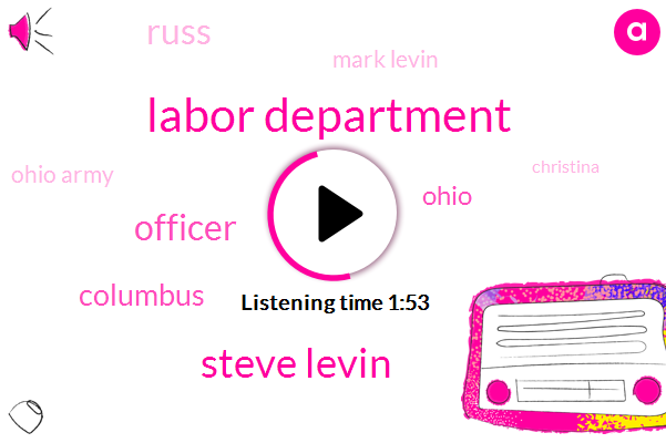 Labor Department,Steve Levin,Officer,Columbus,Ohio,Russ,Mark Levin,Ohio Army,ABC,Christina,Search Warrant,Heroin,Scott Janning,NFL,Super Bowl,Army National Guard,Thirty Minutes