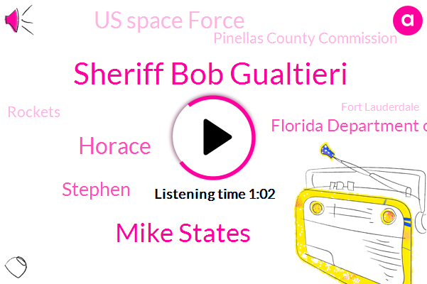 Sheriff Bob Gualtieri,Cape Tuesday,Florida Department Of Law Enforcement,Us Space Force,Pinellas County Commission,Fort Lauderdale,South Florida,Rockets,Miami,Broward,Officer,Mike States,Horace,Stephen,Attorney