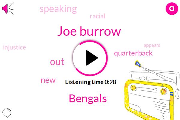 Joe Burrow,Bengals