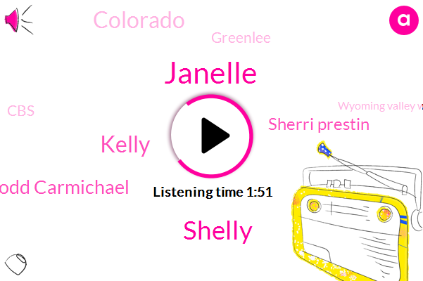 Janelle,Shelly,Kelly,Todd Carmichael,Sherri Prestin,Colorado,Greenlee,CBS,Wyoming Valley West School,Lucerne County Pennsylvania,Shelley,Wyoming,ABC,Twenty Two Thousand Dollars,Thirty Five Years,Twelve Year