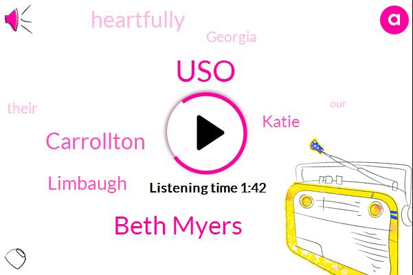 USO,Beth Myers,Carrollton,Limbaugh,Katie,Heartfully,Georgia