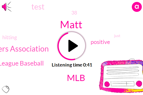 Mlb Players Association,MLB,Major League Baseball,Matt