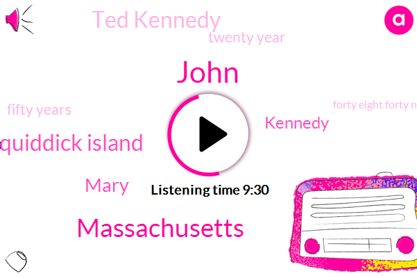 John,Massachusetts,Chappaquiddick Island,Mary,Ted Kennedy,Twenty Year,Fifty Years,Forty Eight Forty Nine Years,Thirteen Thirty K,Sixty Two Years,Twenty Years,Ten Minutes,Three Weeks