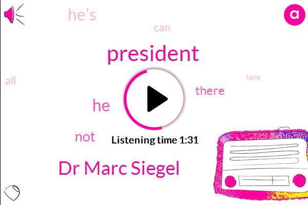 President Trump,Dr Marc Siegel