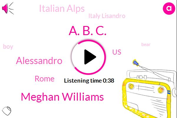 Italian Alps,A. B. C.,Meghan Williams,Rome,Alessandro,Italy Lisandro,United States