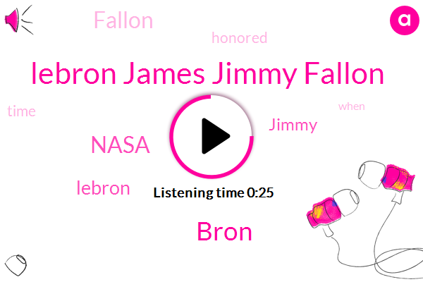 Lebron James Jimmy Fallon,Nasa,Bron