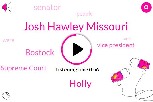 Vice President,Josh Hawley Missouri,Holly,Bostock,Senator,Supreme Court