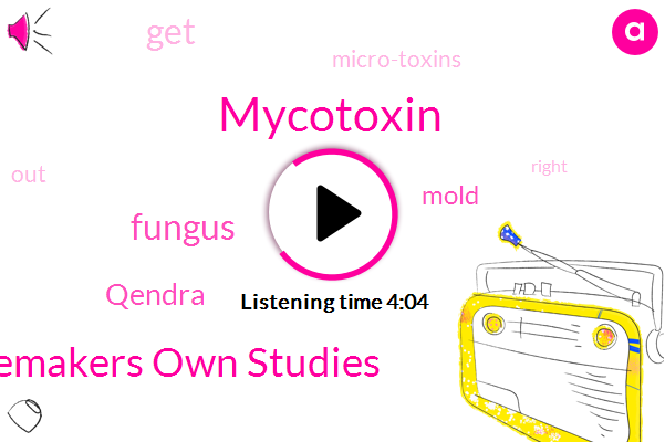Mycotoxin,Dr Shoemakers Own Studies,Fungus,Qendra