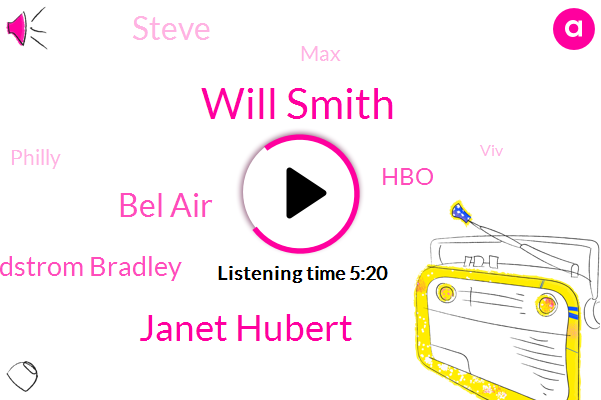 Will Smith,Janet Hubert,Bel Air,Colleen Lindstrom Bradley,HBO,MAX,Steve,Philly,VIV,Donna,Hollywood,WOZ