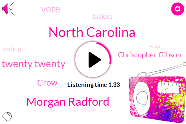 North Carolina,Morgan Radford,Twenty Twenty,Crow,Christopher Gibson