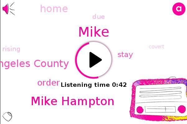 Mike Hampton,Los Angeles County,Mike