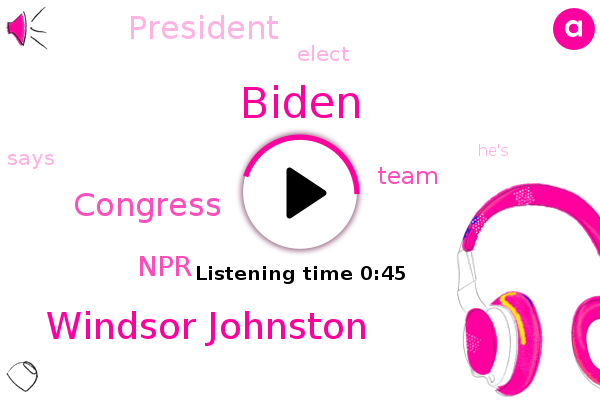 Biden,Congress,Windsor Johnston,NPR