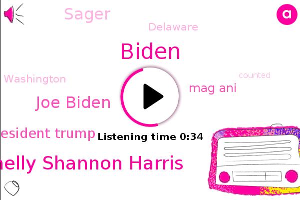 Shelly Shannon Harris,Joe Biden,Biden,President Trump,Delaware,Mag Ani,Sager,Washington