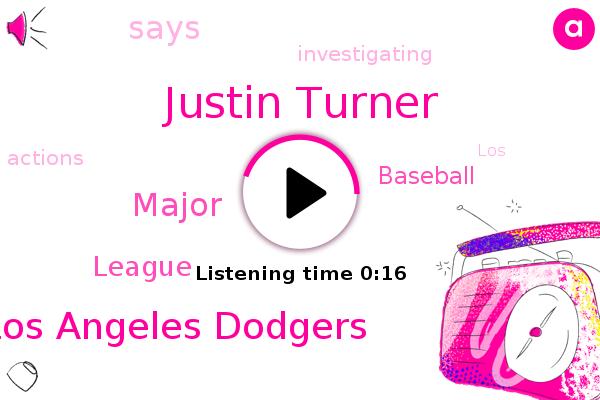 Los Angeles Dodgers,Justin Turner