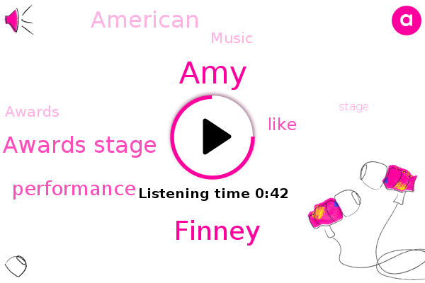 American Music Awards Stage,AMY,Finney